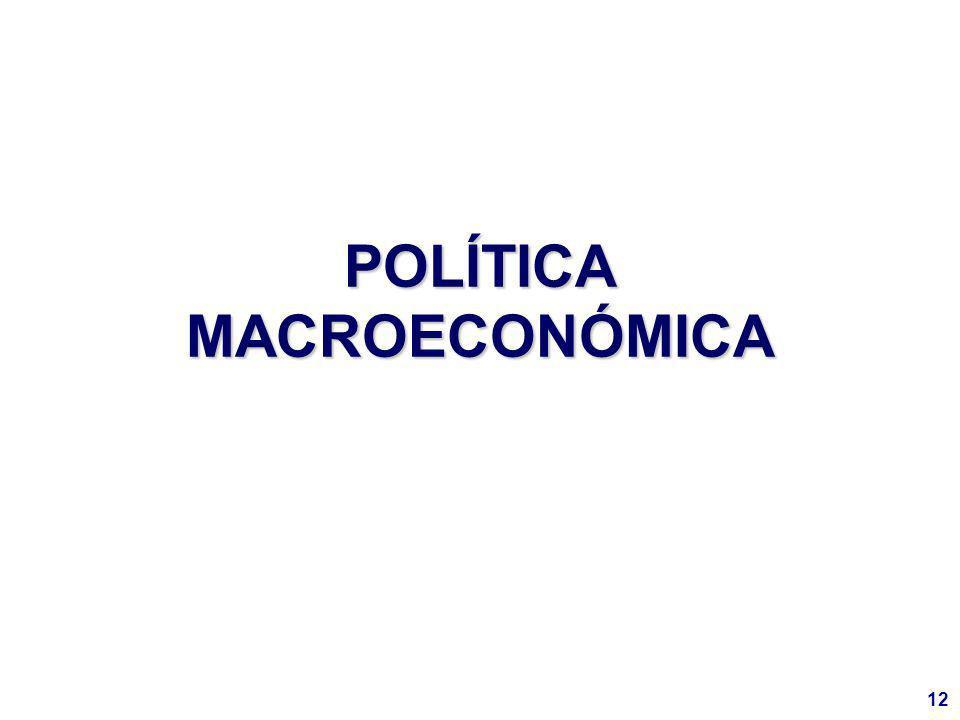 12 POLÍTICA MACROECONÓMICA