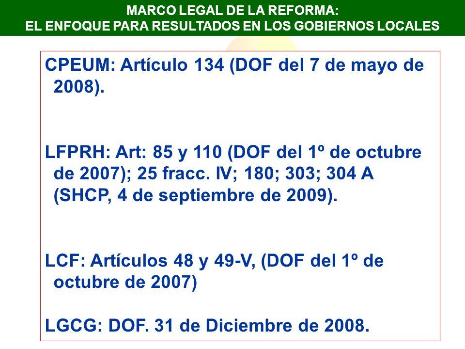 En el Estado de Guanajuato, el Presupuesto de Egresos para el ejercicio fiscal 2009, logra sentar las bases de lo que es el inicio de un proceso que está orientado hacia la implementación del Presupuesto en Base a Resultados.