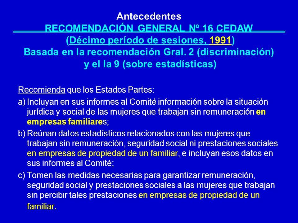 PAÍSES DE ALC, EN LOS QUE EXISTE ALGUNA LEGISLACIÓN PARA GENERAR INFORMACIÓN SOBRE UT, PARA VALORAR EL TNR Y PARA ELABORAR CUENTAS SATÉLITE DEL TNR MANDATO CONSTITUCIONAL LEYES NACIONALES LEYES EN LOS SISTEMAS DE INFORMACIÓN ESTADÍSTICA PROYECTOS DE LEY ECUADORCOLOMBIA MÉXICO COSTA RICA BOLIVIATRINIDAD Y TOBAGO PERÚ ARGENTINA Fuente: ONU Mujeres.