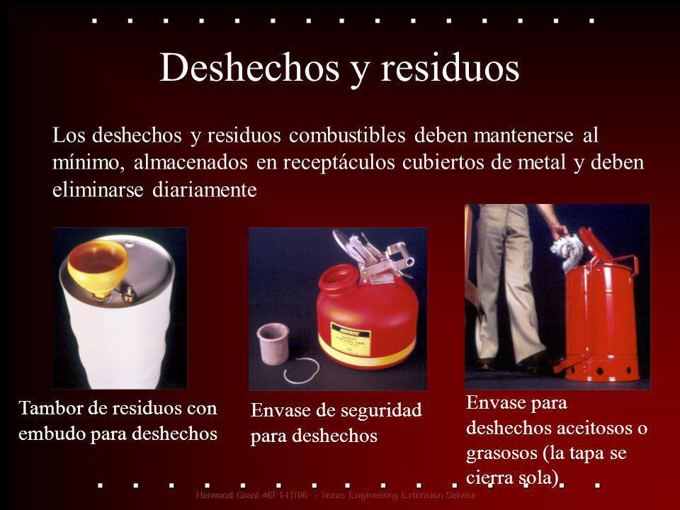 Deshechos y residuos Tambor de residuos con embudo para deshechos Envase de seguridad para deshechos Envase para deshechos aceitosos o grasosos (la ta