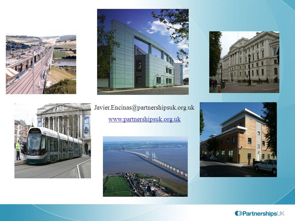 Javier.Encinas@partnershipsuk.org.uk www.partnershipsuk.org.uk
