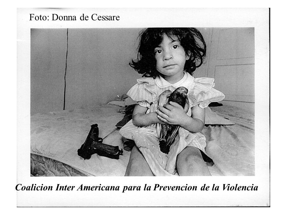 Coalicion Inter Americana para la Prevencion de la Violencia Foto: Donna de Cessare