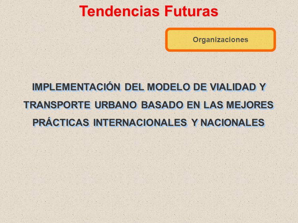 Tendencias Futuras En Capacitación de Técnicos y Operadores del Transporte Urbano Elevar la profesionalización de: Policías de tránsito (Academias) Op