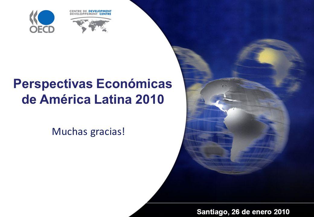 Santiago, 26 de enero 2010 Perspectivas Económicas de América Latina 2010 Muchas gracias!