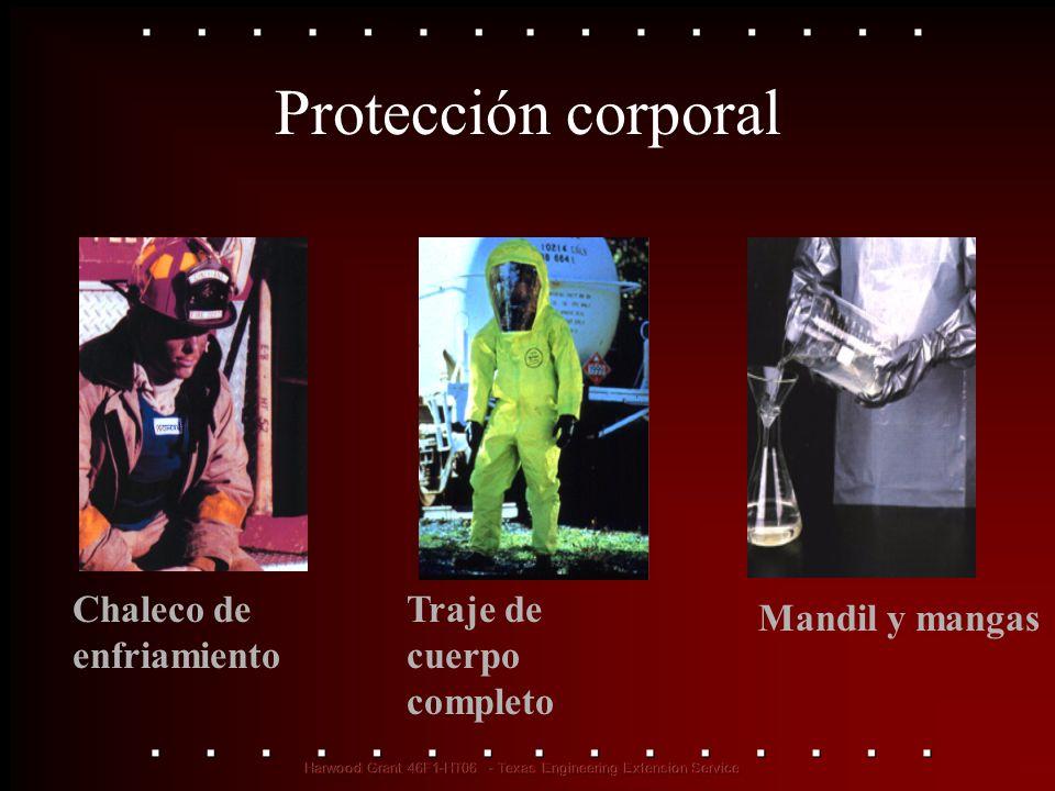 Chaleco de enfriamiento Mandil y mangas Protección corporal Traje de cuerpo completo