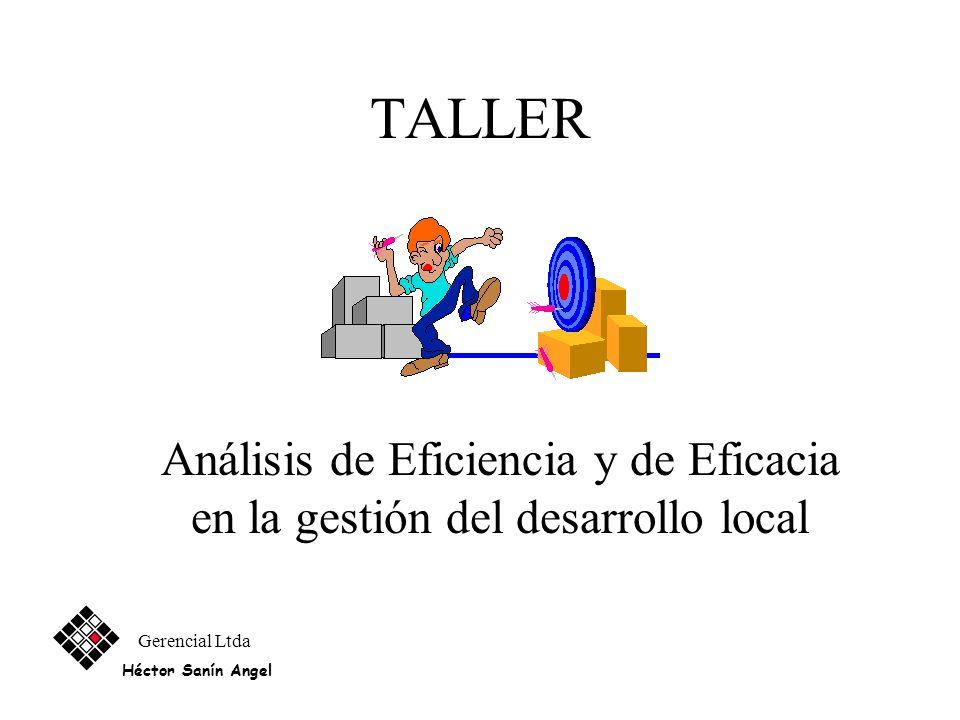 Matriz de Sosteniblidad Gerencial Ltda Héctor Sanín Angel