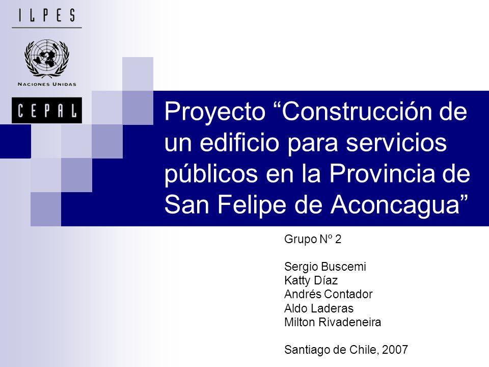 Área de estudio y contexto Población de San Felipe: 131.911 habitantes (Censo 2002).