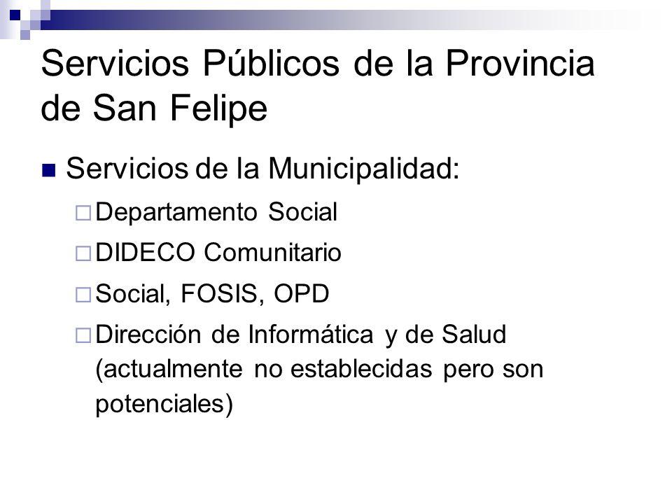 Concentración parcial de los Servicios Públicos en una nueva edificación: Realizar un catastro de bienes raíces y una actualización del plan regulador municipal.