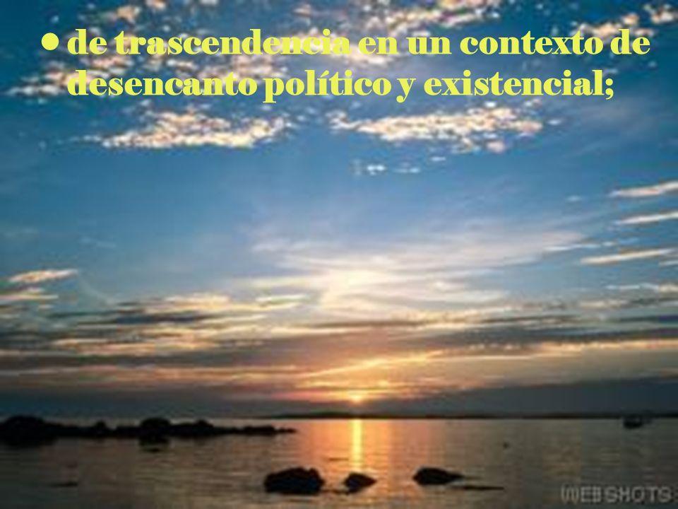 el deseo de nacer de nuevo, - desde la lógica de la encarnación (NMI, 52) y la súplica al Espíritu para que así sea (refundación)