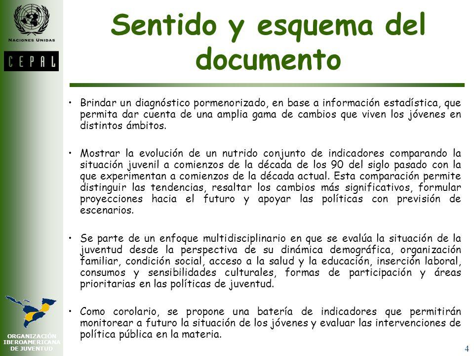 ORGANIZACIÓN IBEROAMERICANA DE JUVENTUD 14 IV.