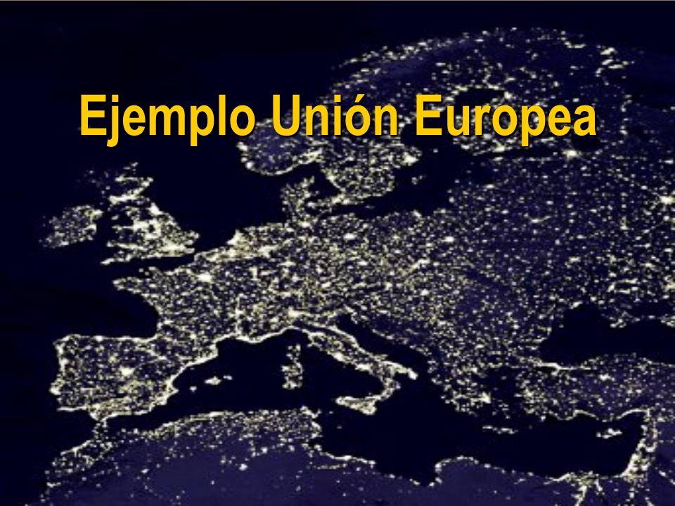 JHoffmann @ ECLAC.cl Ejemplo Unión Europea