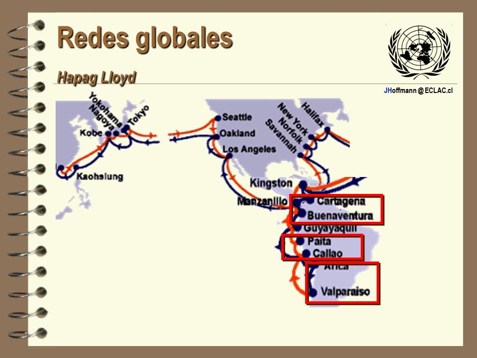 JHoffmann @ ECLAC.cl Redes globales Hapag Lloyd