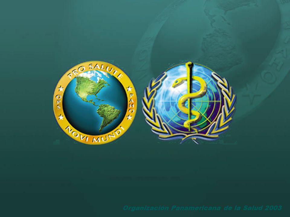 Organización Panamericana de la Salud 2003