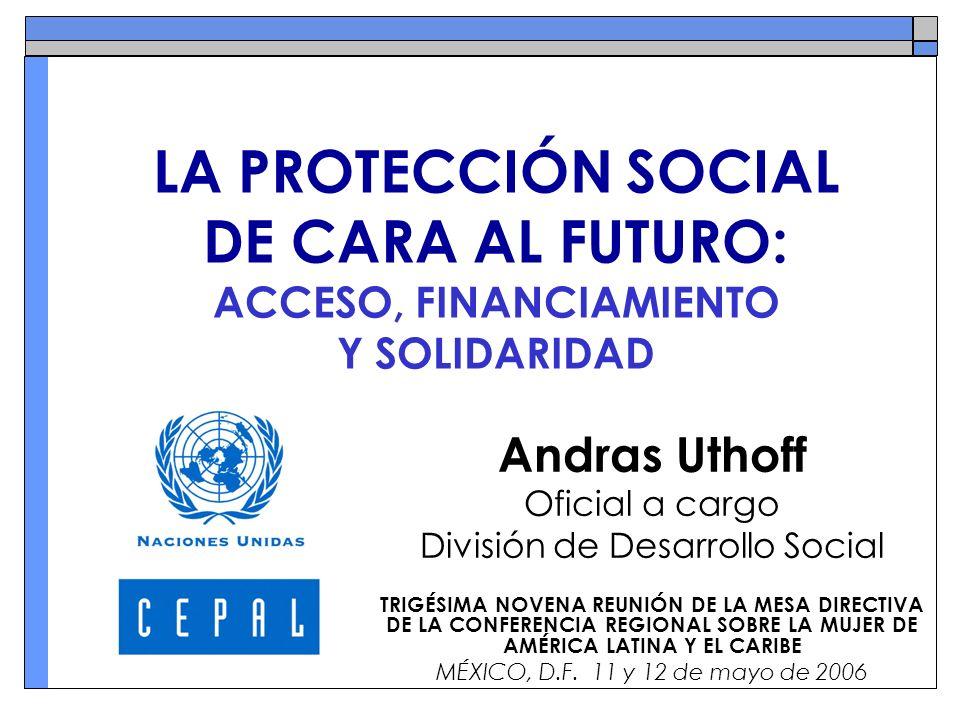Antecedentes La pobreza limita el ejercicio de la ciudadanía y la exigibilidad de los derechos.