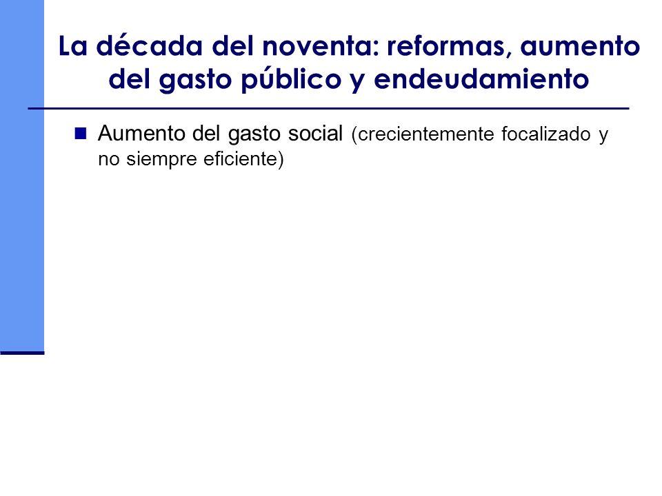 Un nuevo siglo: una historia repetida con respecto a la equidad Fuente: Cepal en base a información propia y Goñi, Lopez y Serven (2008) y Gomez Sabaini (2007)