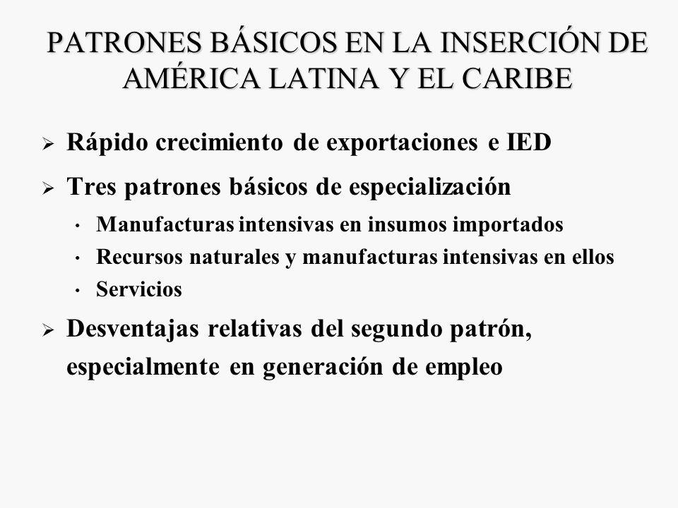 UNA DÉCADA DE LUCES Y SOMBRAS Avances en el frente económico +Restablecimiento del crecimiento económico +Institucionalidad macroeconómica fuerte +Men