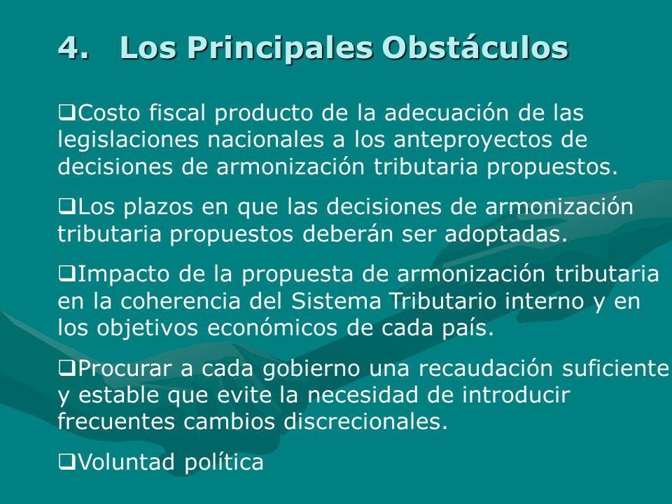 NºSedeFechaAgenda I ReuniónLima - Perú 24-25 Abril 2003 Armonización de Aspectos Sustanciales de la normativa del Impuesto sobre el Valor Agregado (IV