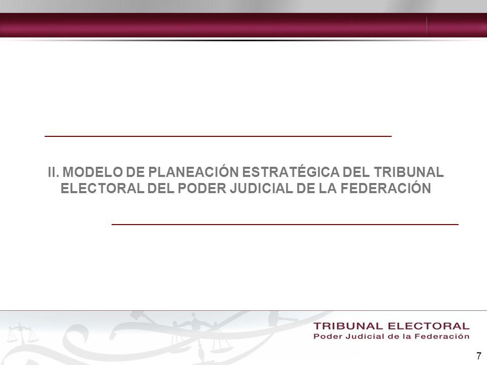 8 El proceso de planeación estratégica se concentrará en los siguientes aspectos: Estimular la acción y la participación de todas las áreas.