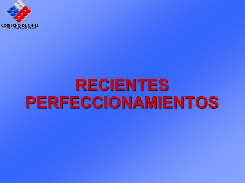 RECIENTES PERFECCIONAMIENTOS RECIENTES PERFECCIONAMIENTOS