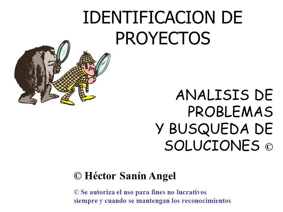 Héctor Sanín Angel Análisis de problemas y búsqueda de soluciones Método de Árboles