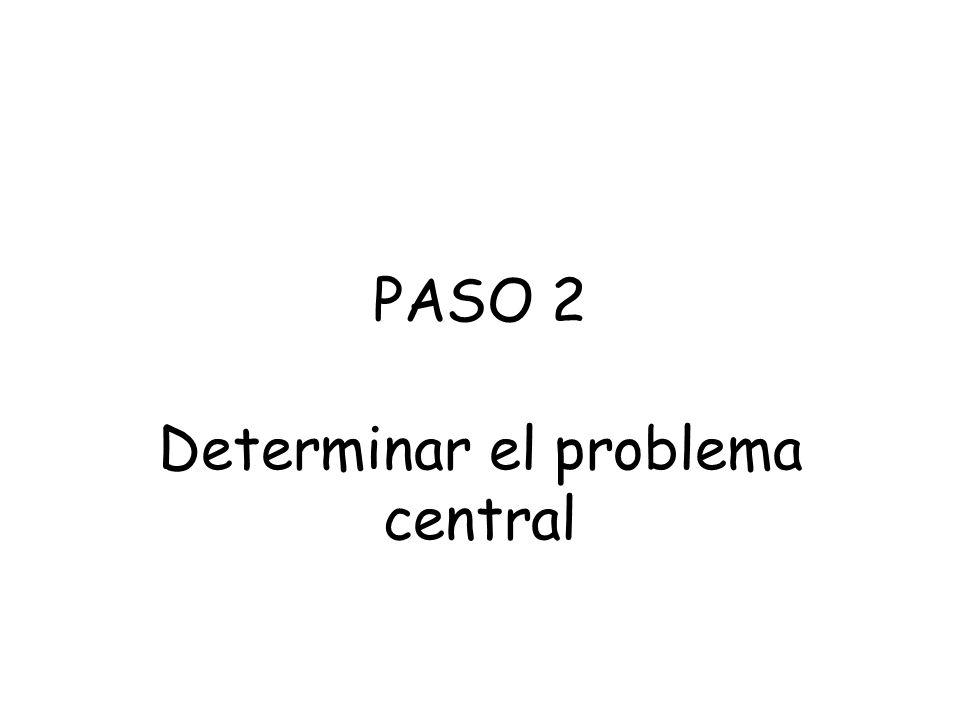 Héctor Sanín Angel Criterios orientadores para seleccionar el Problema Central Que se trate de un nodo crítico Que tenga un alcance que trascienda a l