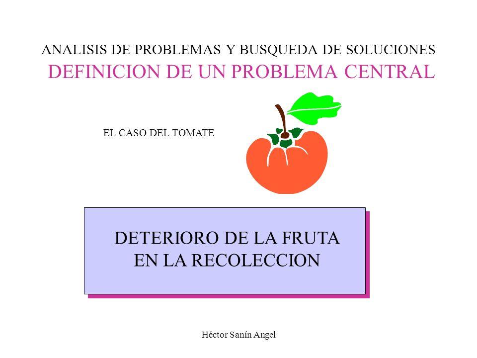 Técnicas de Arboles APLICACIÓN DEL MÉTODO CUANDO EL PROBLEMA ESTÁ DEFINIDO O FOCALIZADO 1