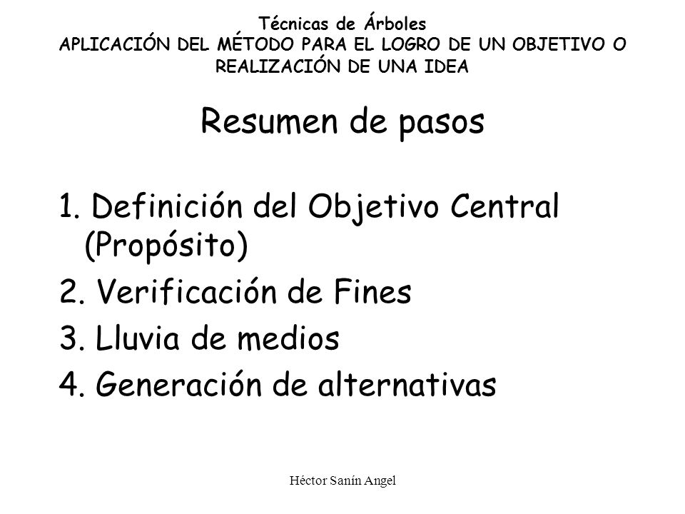 Héctor Sanín Angel NUEVO PRODUCTO COLOCADO EN EL MERCADO Paso 4: Generar Alternativas Por combinación de medios complementarios y disyuntivos CANALES