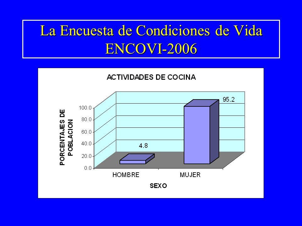La Encuesta de Condiciones de Vida ENCOVI-2006