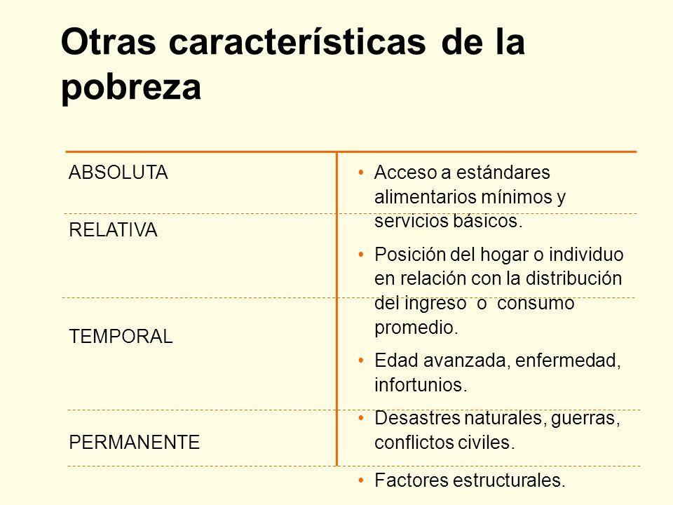 Pobreza y otros conceptos relacionados DESIGUALDAD EXCLUSION SOCIAL VULNERABILIDADDISCRIMINACION