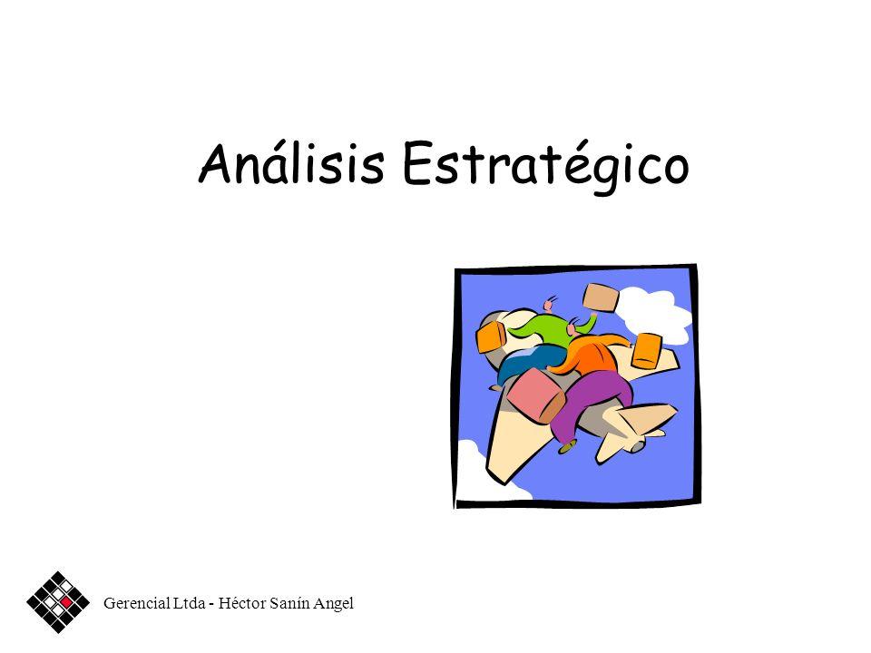 Análisis Estratégico Gerencial Ltda - Héctor Sanín Angel