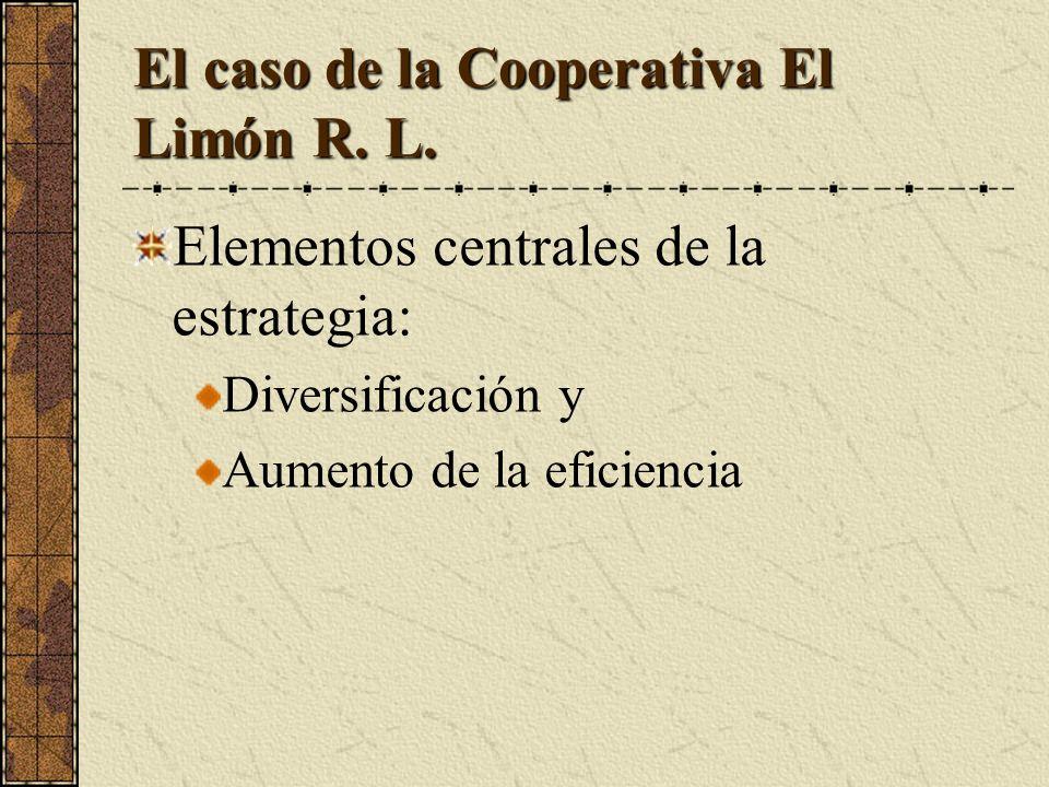 El caso de la Cooperativa El Limón R. L.
