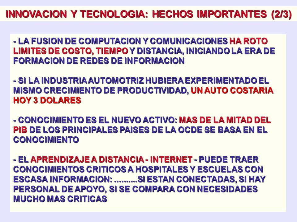 INNOVACION Y TECNOLOGIA: HECHOS IMPORTANTES (1/3) - INNOVAR SINONIMO DE PRODUCIR, ASIMILAR Y EXPLOTAR CON EXITO UNA NOVEDAD: mayor seguridad transport