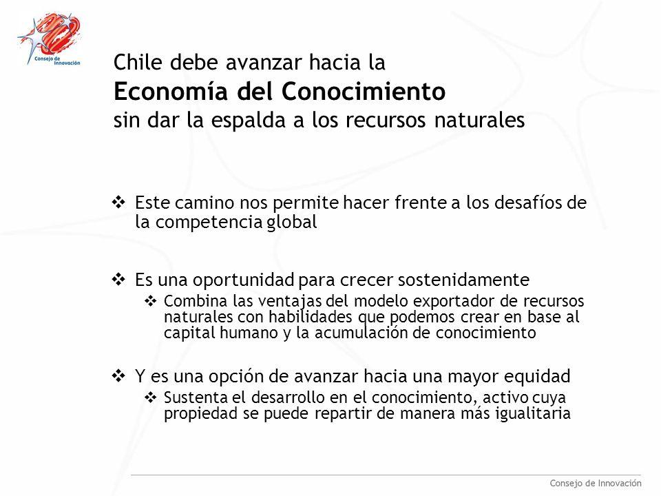 Estudio de Competitividad en Clusters Consejo Nacional de Innovación para la Competitividad Agosto 2007 Hacia una Estrategia Nacional de Innovación para la Competitividad