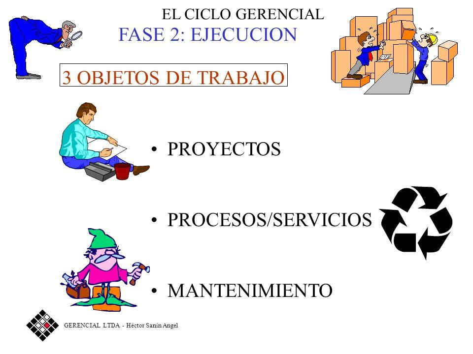 El proceso atraviesa la pirámide FUNCIONESFUNCIONES PROCESOS ALTA GERENCIA (ALCALDE) SUBGERENTES (SECRETARIOS, DIRECTORES) GERENTES FUNCIONALES SUPERVISORES PERSONAL DE PRIMERA LINEA SERVICIO AL CLIENTE VENTAS CONTABIL.PAGADURIAALMACEN REQUERIMIENTOS DEL CLIENTE PRODUCTOS O SERVICIOS PRODUCCION © Gerencial Ltda Héctor Sanín Angel