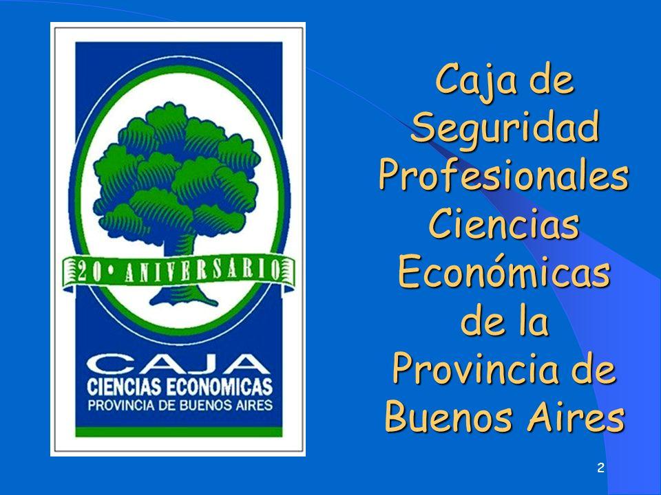 2 Caja de Seguridad Profesionales Ciencias Económicas de la Provincia de Buenos Aires Prestaciones
