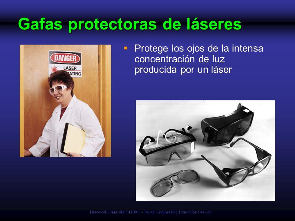 Harwood Grant 46F1-HT06 - Texas Engineering Extension Service Gafas protectoras de láseres Protege los ojos de la intensa concentración de luz produci