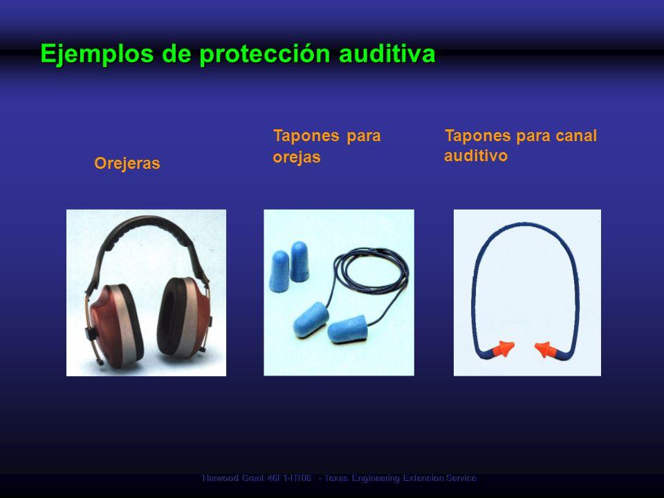 Harwood Grant 46F1-HT06 - Texas Engineering Extension Service Orejeras Tapones para orejas Tapones para canal auditivo Ejemplos de protección auditiva
