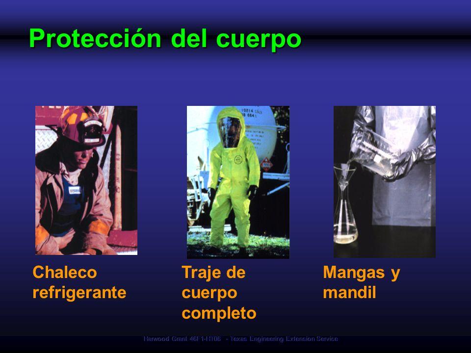 Harwood Grant 46F1-HT06 - Texas Engineering Extension Service Chaleco refrigerante Mangas y mandil Protección del cuerpo Traje de cuerpo completo