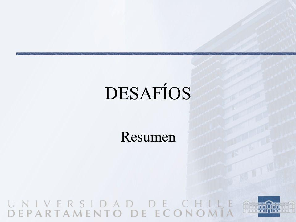 DESAFÍOS Resumen