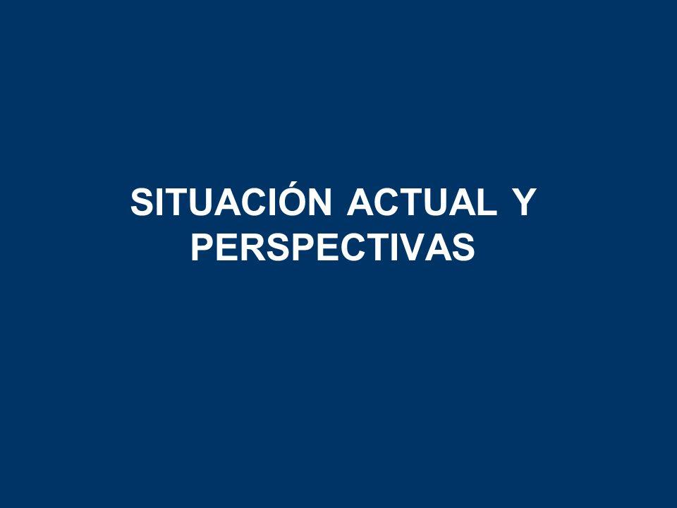 SITUACIÓN ACTUAL Y PERSPECTIVAS