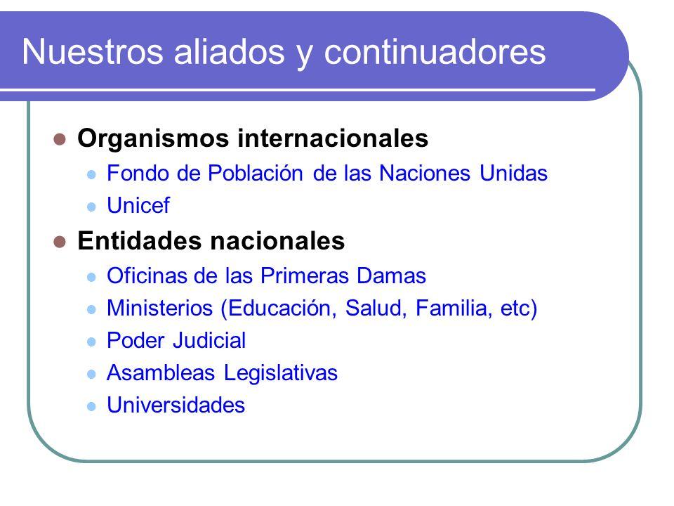 Nuestro deseo: Que se profundicen los resultados del proyecto en el Istmo Centroamericano Que se implementen proyectos equivalentes en otros países de América Latina y el Caribe Por eso, la CEPAL ofrece su documentación y experiencia
