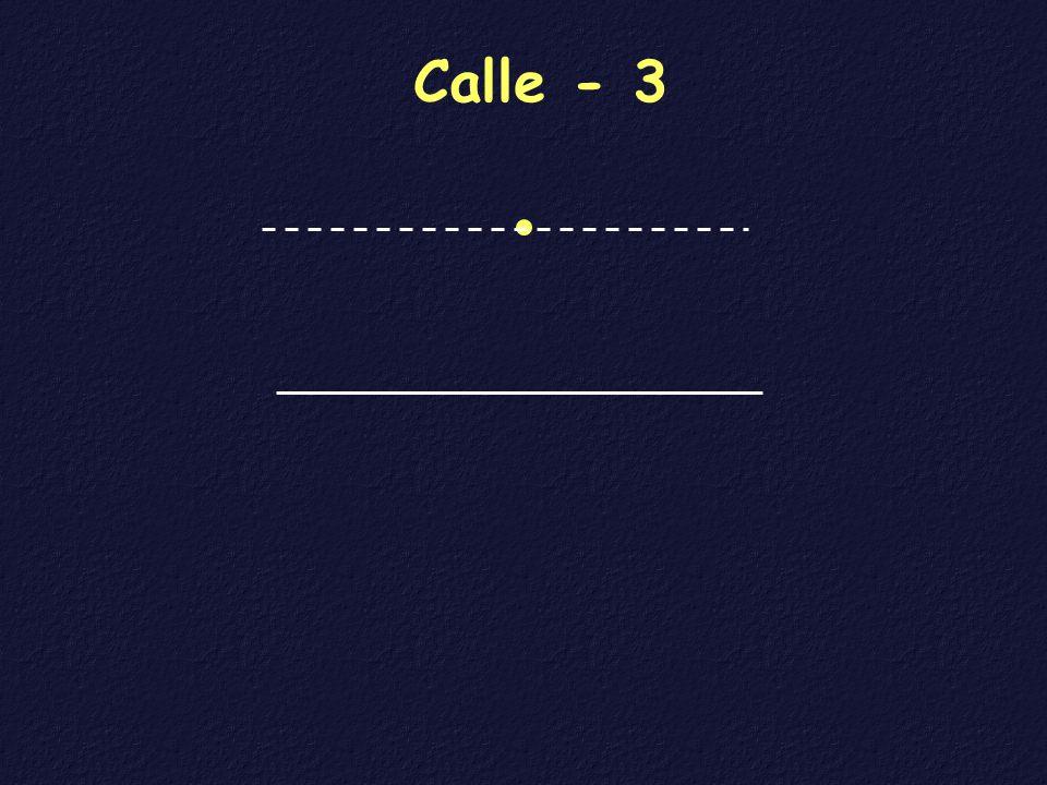 Calle - 3