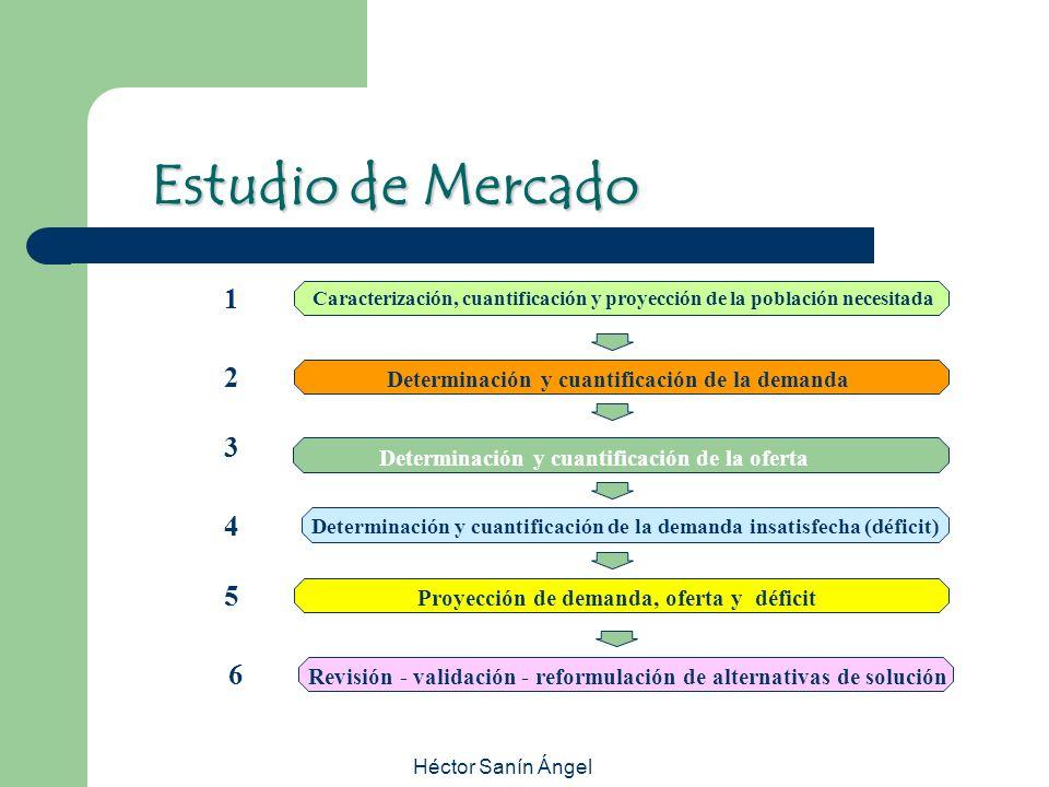 Héctor Sanín Ángel Caracterización, cuantificación y proyección de la población necesitada Determinación y cuantificación de la demanda Determinación