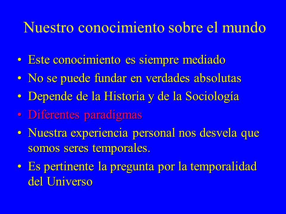 La Cosmología actual facilita al teólogo la comprensión, la exposi- ción y la defensa de la doctrina de la creatio ex nihilo, aunque no puede llegar a demostrarla.