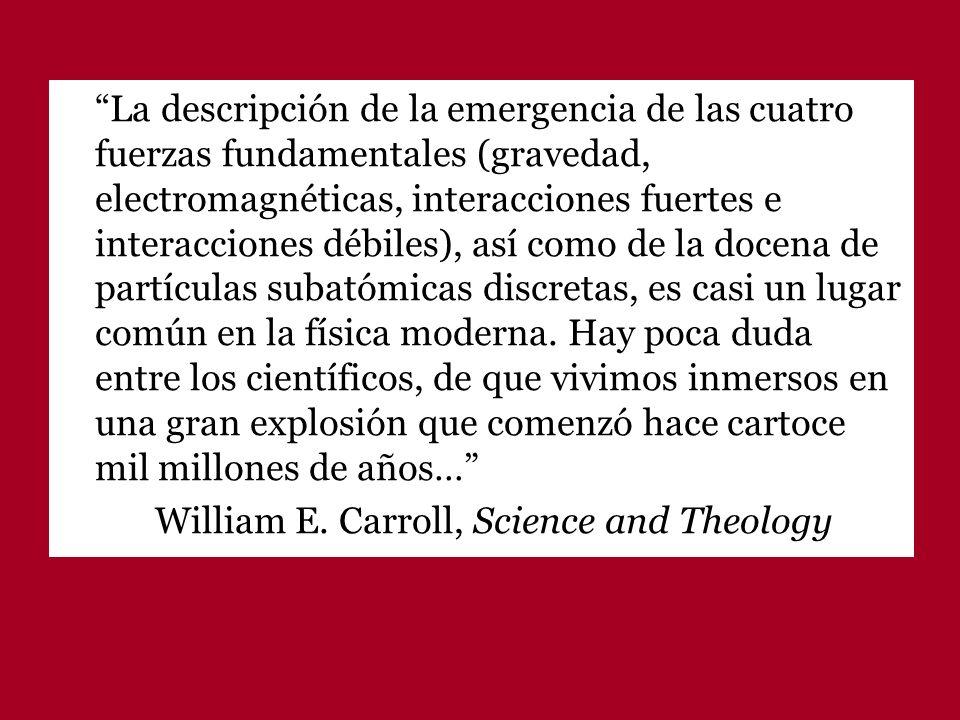 Todos los intentos de concor- dancias entre las aportaciones científicas y la reflexión sobre la fe en Dios Creador están llamados al fracaso.