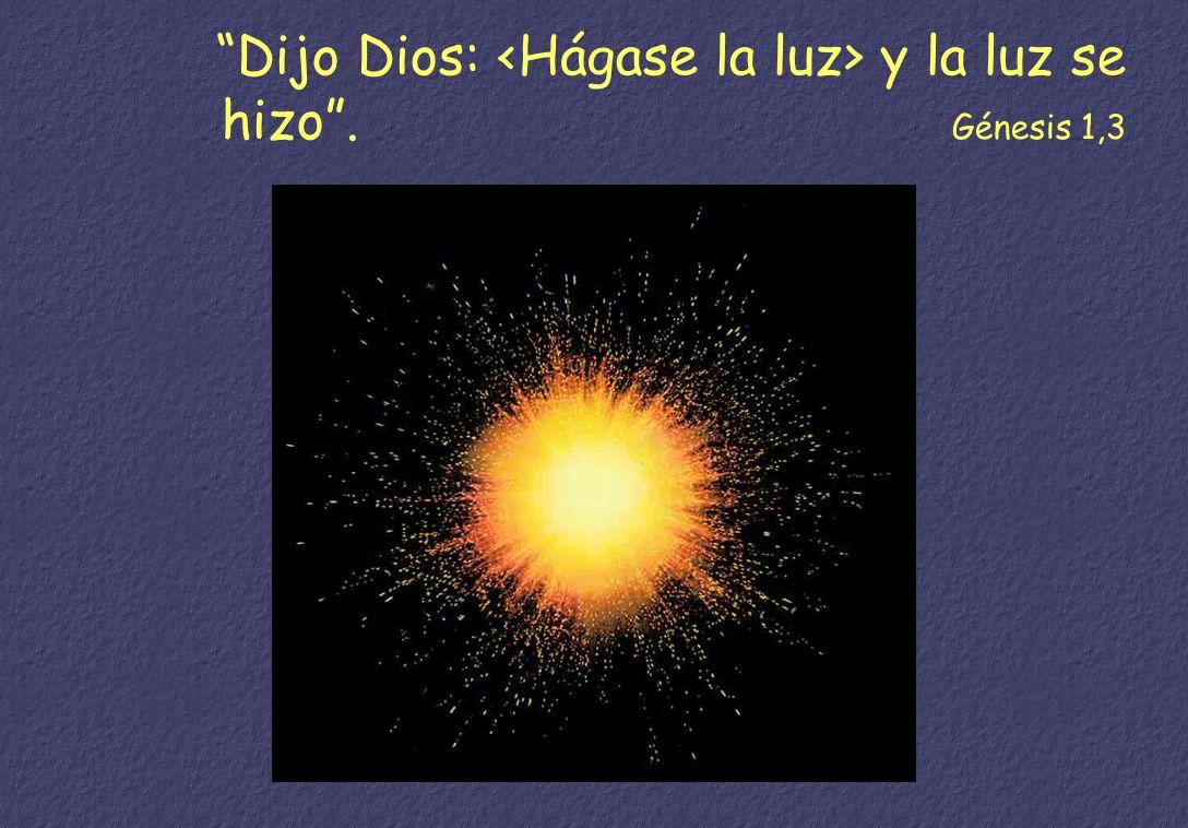 En el principio creó Dios los cielos y la tierra. Génesis 1,1