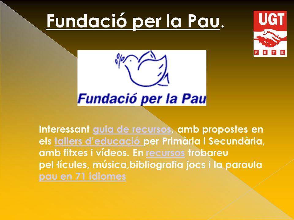 Fundació per la Pau.