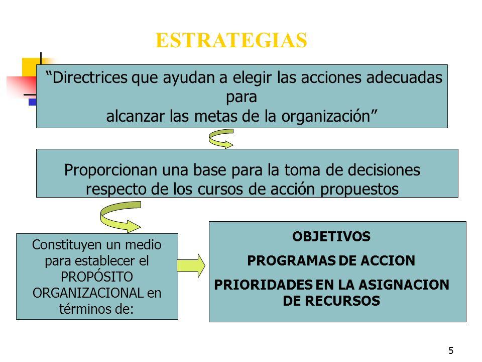 4 PLANIFICACION ESTRATEGICA Proceso que se sigue para determinar los objetivos y las metas de una organización y las estrategias que permitirán alcanz