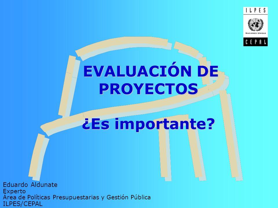 No es posible reflejar los verdaderos beneficios del proyecto en la evaluación.