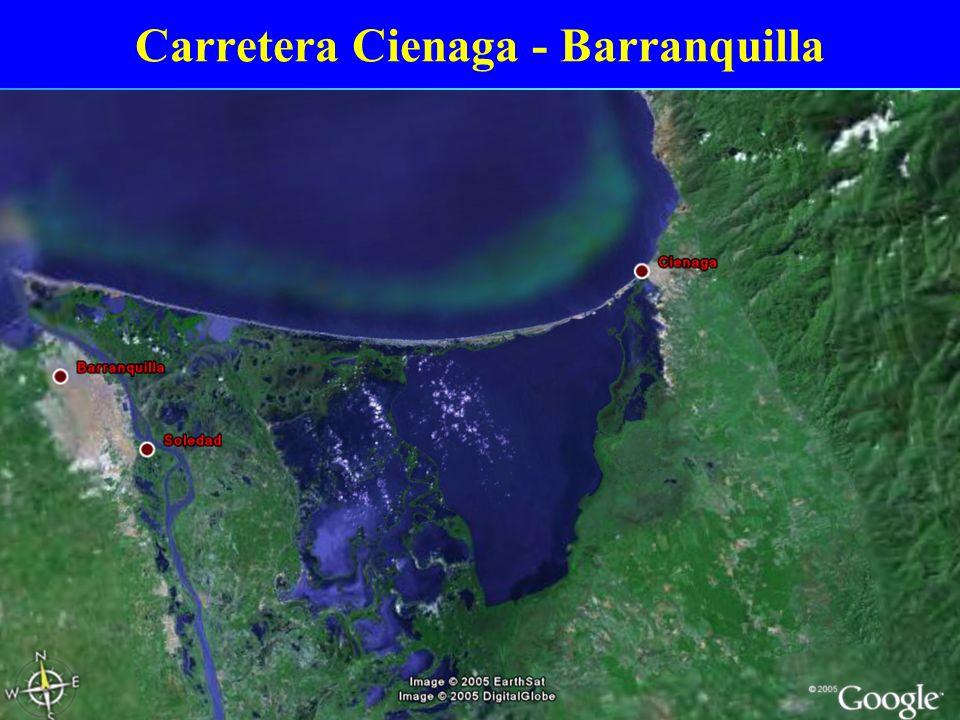 Carretera Cienaga - Barranquilla